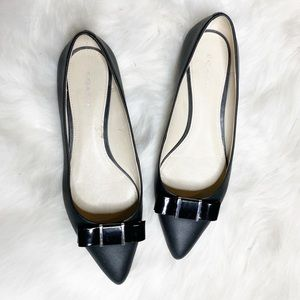 Coach | Warwick  Pointed toe Bow flats